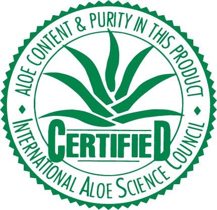 certified aloe logo