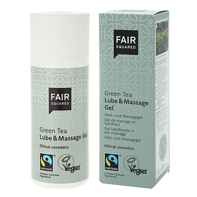 Fair Squared Lubrikační & masážní gel zelený čaj, 150 ml