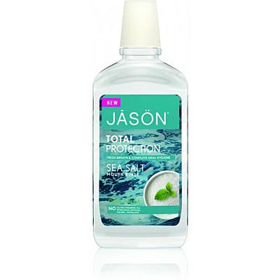 Ústní voda Total protection s mořskou solí a mátou, 474 ml
