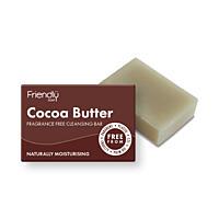 Friendly Soap přírodní mýdlo na čištění obličeje s kakaovým máslem, 95 g