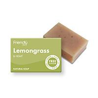 Přírodní mýdlo - Citronová tráva a konopí, 95 g