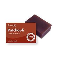 Přírodní mýdlo - Pačuli a santalové dřevo, 95 g