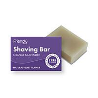 Přírodní mýdlo na holení pomeranč a levandule, 95 g