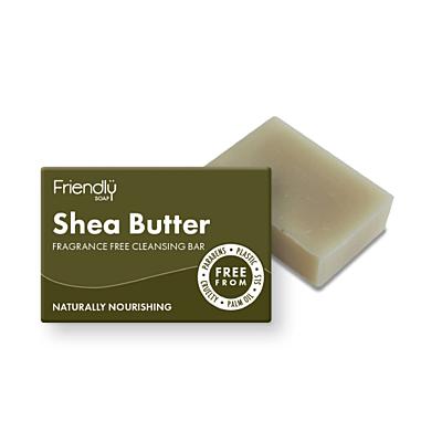Friendly Soap přírodní mýdlo na čištění obličeje s bambuckým máslem, 95 g