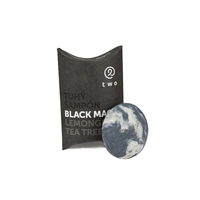 Tuhý šampon BLACK MAGIC, 85 g