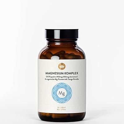 Magnesium komplex 6 forem, 120 kapslí