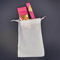 Pacifica Sandalwood parfém unisex - flakón 29 ml + roll-on 10 ml + lněný pytlík  dárková sada