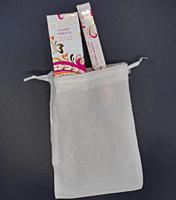 Pacifica Island Vanilla parfém pro ženy - flakón 29 ml + roll-on 10 ml + lněný pytlík  dárková sada