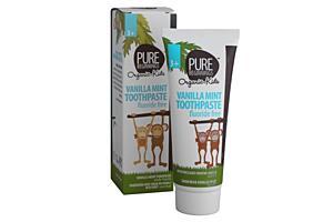 Zubní pasta pro děti bez fluoridů, vanilkovo-mátová příchuť, 75ml
