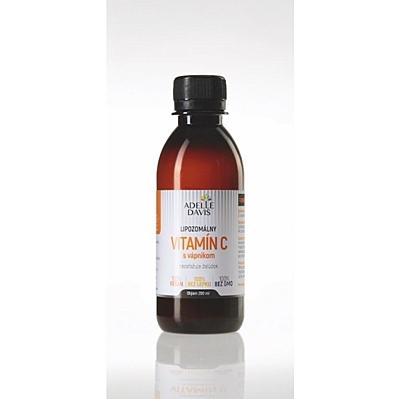 Liposomální vitamín C s vápníkem, 200 ml