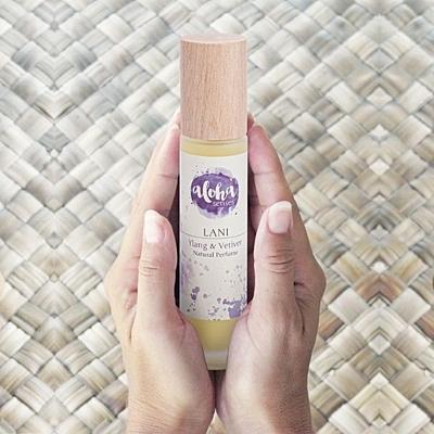 LANI Ylang & Vetiver přírodní parfém