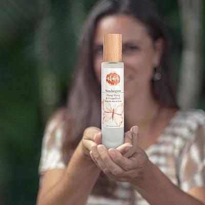 Nový začátek Ylang-Ylang & Grapefruit tělový sprej 100ml 2