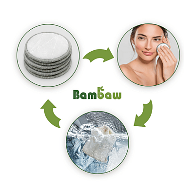 Bambaw Bambusové odličovací tampony, balení 16 ks 2
