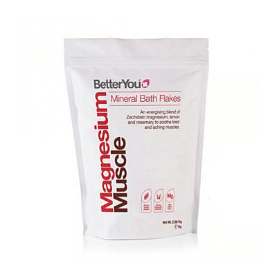 Magnéziové (Hořčíkové) vločky do koupele - pro zotavení svalů, 1 kg