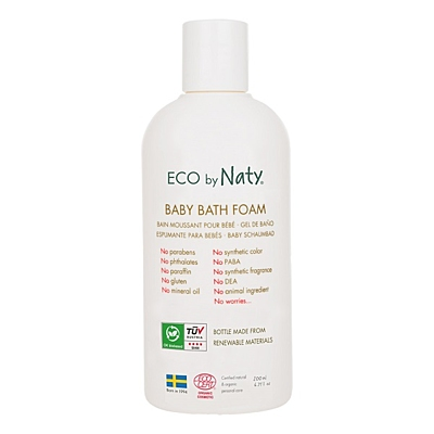 Eco by Naty Baby pěna do koupele, 200 ml