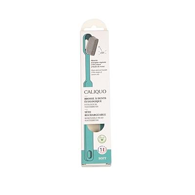 Ecodis kartáček z bioplastu s vyměnitelnou hlavou, SOFT 8