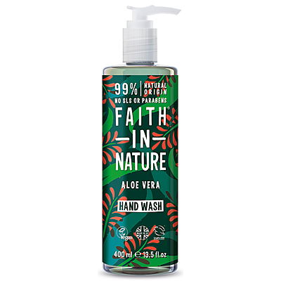 Faith in Nature Tekuté mýdlo Aloe Vera & Tea Tree, 400 ml