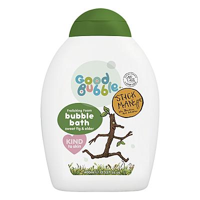 Good Bubble Stick Man dětská pěna do koupele Sladký fík a Černý bez, 400 ml