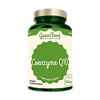 GreenFood Koenzym Q10, 60 kapslí