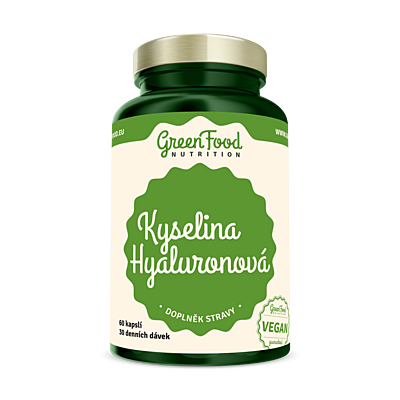 GreenFood Kyselina Hyaluronová, 60 kapslí