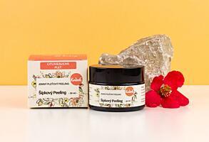Kvítok Šípkový Peeling pro Suchou / Citlivou Pleť, 30 ml