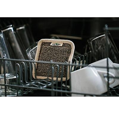MAISTIC Přírodní houba na mytí nádobí z konopí a celulózy, 1 ks 2