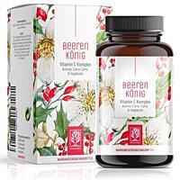 Naturtreu Vitamin C Komplex - Beerekönig, 180 kapslí
