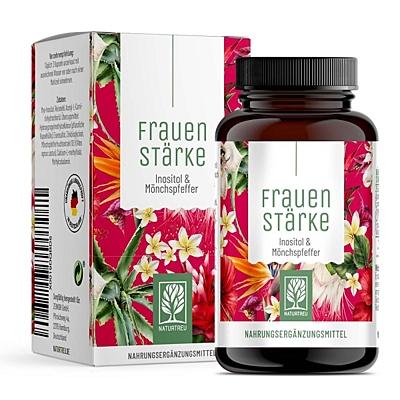 Naturtreu Ženská síla - Inositol & Drmek, 90 kapslí