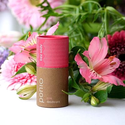 Pink - přírodní deodorant, sodafree 60g 2