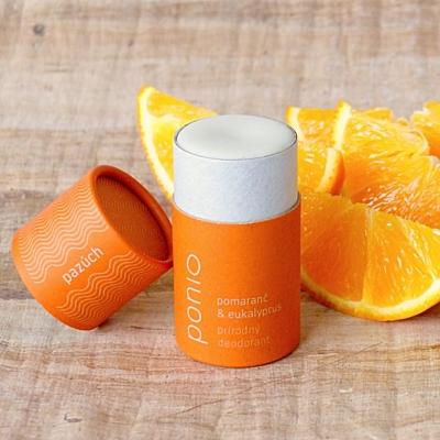 Pomeranč a eukalyptus - přírodní deodorant 65g