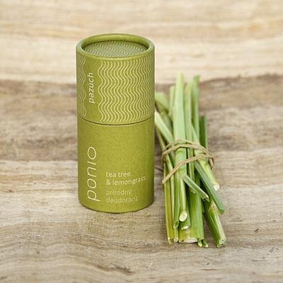 Tea tree a lemongras - přírodní deodorant 65g