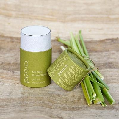 Tea tree a lemongras - přírodní deodorant 65g 2