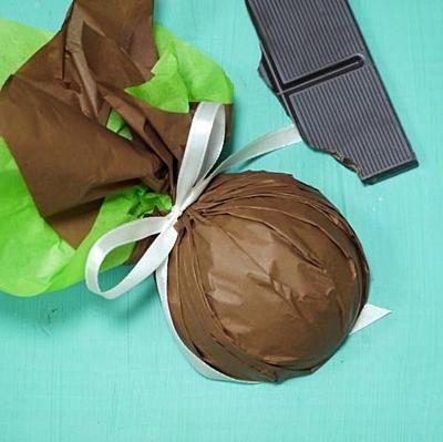 Kakao a máta - masážní kostka 4
