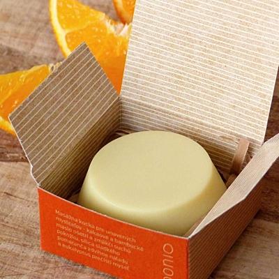 Pomeranč & eukalyptus - masážní kostka 2