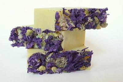 Dvojitá levandule - přírodní mýdlo 100g 2