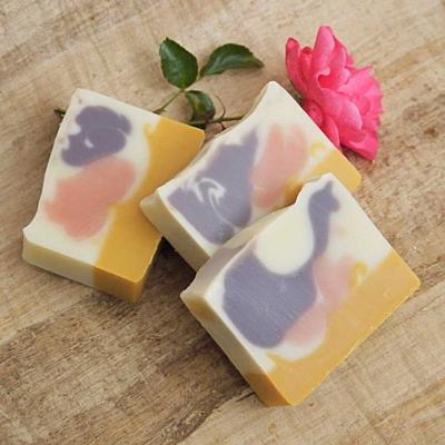 Růžová alej s rakytníkem - přírodní mýdlo 100g