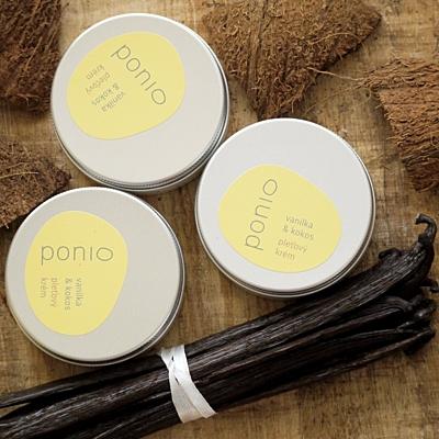 Vanilka a kokos - pleťový krém 50g 3