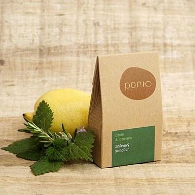 Citron a rozmarýn - kopřivový šampúch 4