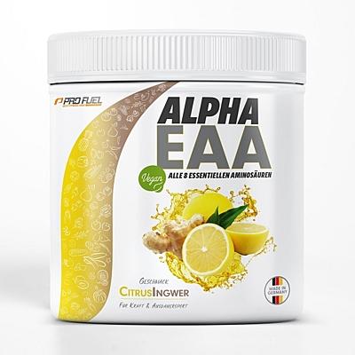 ProFuel ALPHA.EAA 8 esenciálních aminokyselin Citrus & Zázvor, 462 g