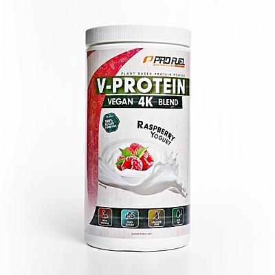 ProFuel V-PROTEIN 4K BLEND Malinový jogurt, 750 g