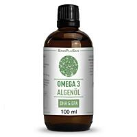 SinoPlaSan Omega 3 algae DHA+EPA olej, 100 ml
