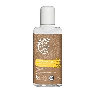 Tierra Verde Hygienický gel na ruce citrón