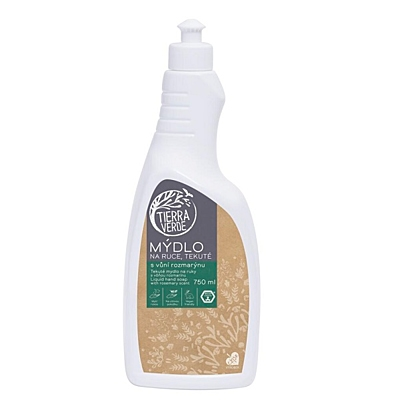 Tierra Verde Tekuté mýdlo na ruce rozmarýn 2