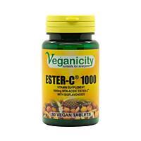 Veganicity ESTER-C 1000 mg - pH neutrální forma vitamínu C, 30 ks tablety