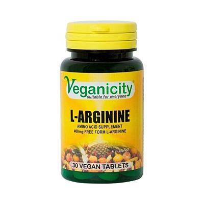 L-Arginin 400mg, 30 tablet