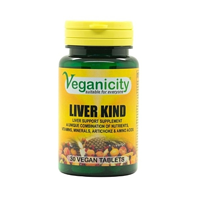 Liver Kind - Pomáhá udržovat zdravá játra, 30 tablet
