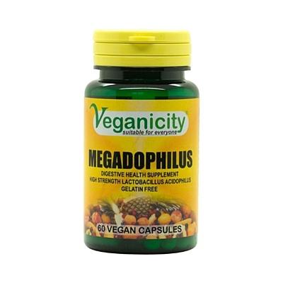 Megadophilus - 1,25 miliardy Lactobacillus Acidophilus 60 kapslí
