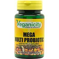 Mega Multi Probiotic - 20 miliard prospěšných bakterií, 30 kapslí