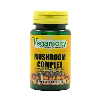 Houbový komplex - pro posílení imunity a zdravější prostatu, 60 tablet