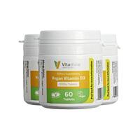 Vitashine tablety. Vitamín D3 1000 IU, 60 tablet, sada 3 ks s dopravou zdarma
